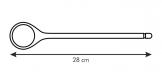 Colher WOODY, 28 cm