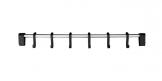 Závěsná lišta SPACE LINE 38 cm, 6 háčků
