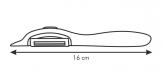 Keramická škrabka s podélnou čepelí VITAMINO