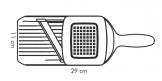 Cortador com lâmina de cerâmica VITAMINO, ajustável