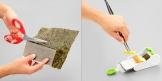 Utensilio para preparar rollos HANDY