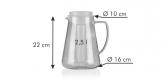 Jarro TEO 2.5 l, com infusor e refrigerador