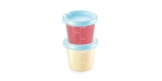 Recipiente PAPU PAPI 150 ml, 2 pcs, azul