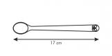 Colher longa de criança BAMBINI, 3 pcs