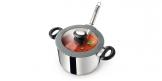 Deep pot SmartCOVER with cover ø20 cm, 4.0 l