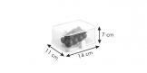 Caixa saudável para frigorífico PURITY, 14x11 cm