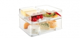 Healthy container for the refrigerator PURITY 22x14 cm