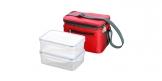 Saco térmico com 2 caixas FRESHBOX