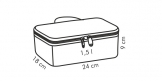 Thermobox mit Gel-Kühlkissen COOLBAG, 1 Dose