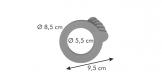 Уплотнение для стеклянной банки DELLA CASA 200 и 350 мл, 6 шт