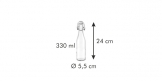 Бутылка с зажимом TESCOMA DELLA CASA 330 мл