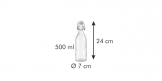 Бутылка с зажимом TESCOMA DELLA CASA 500 мл