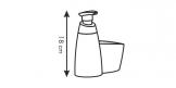 Frasco p/ detergente CLEAN KIT 350 ml, e p/ esfregão