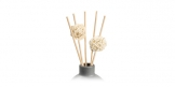 Decorative rattan sticks FANCY HOME, 2 pcs, nests