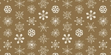 Christmas wrapping paper 70 x 100 cm, 6 pcs, gold