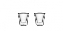 Double wall glass myDRINK 70 ml, 2 pcs