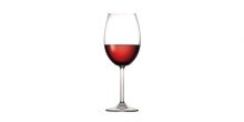 Red wine glass CHARLIE 450 ml