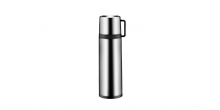 Vacuum flask with cup CONSTANT 0.7 l, stainless steel
