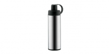 Sports vacuum flask with strainer CONSTANT 0.5 l, stainless steel