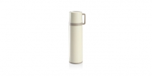 Vacuum flask with cup CONSTANT CREAM 0.5 l, stainless steel
