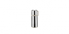 Vacuum flask with cup CONSTANT MOCCA 0.3 l, stainless steel