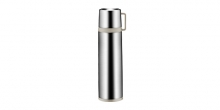 Vacuum flask with cup CONSTANT MOCCA 1.0 l, stainless steel