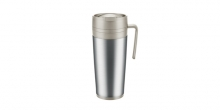 Thermal mug CONSTANT MOCCA 0.4 l, stainless steel