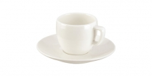 Espresso cup CREMA, with saucer