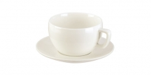 Breakfast cup CREMO, with saucer