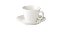 Cappuccino cup ALLEGRO, with saucer