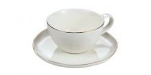 Tea cup CHARMANT, with saucer