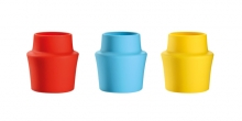 Silicone bottle stopper PRESTO, 3 pcs