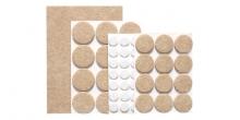 Самоклеящиеся защитные накладки для мебели PRESTO, набор 60 шт.
