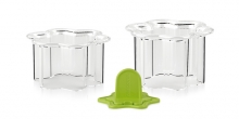 Food shaping moulds PRESTO FoodStyle, flowers, 2 pcs