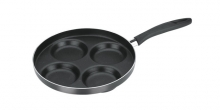 Frying pan with 4 dimples PRESTO ø 24 cm