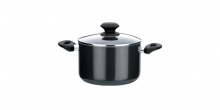 Deep pot PRESTO with cover, 3.5l, ø20 cm