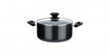 Casserole PRESTO with cover, 2.0 l, ø18 cm