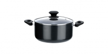 Casserole PRESTO with cover, ø20 cm, 2.5 l, non-stick coating