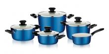 Набір посуду ecoPRESTO, 9 частин