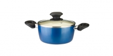 Casserole ecoPRESTO with cover ø 16 cm, 1.3 l