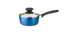 Saucepan ecoPRESTO with cover ø 14 cm, 0.9 l