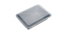 Deep baking sheet DELÍCIA with plastic lid 36 x 25 cm