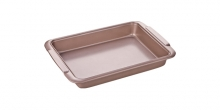 Deep baking sheet DELÍCIA GOLD 32x22 cm