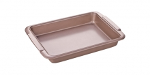Deep baking sheet DELÍCIA GOLD 39x26 cm