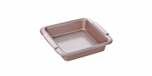 Square baking sheet DELÍCIA GOLD 23x23 cm