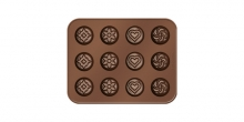 Chocolate mould set DELÍCIA CHOCO, chocolate mix