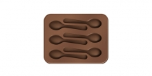 Chocolate mould set DELÍCIA Choco, spoons