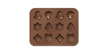Chocolate mould set DELÍCIA CHOCO, Christmas themes