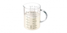 Glass measuring vessel DELÍCIA 1.0 l