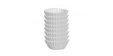 Mini-Papierkörbchen DELÍCIA, ø4.0 cm, 200 St., weiß